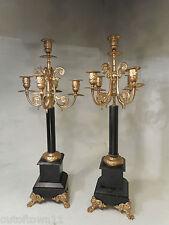 Antique paire de candélabres ref 2528