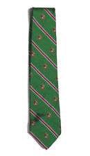 $115 Polo Ralph Lauren Mens Hand Made In Italy Striped Shield Logo Silk Neck Tie