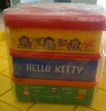 Sanrio hello kitty lunch container kit