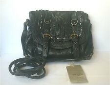 $570 Abaco Paris Dana Rhinestone Embellished Crossbody Leather Bag