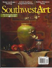 SOUTHWEST ART Magazine December 2013, The Collector's Choice for over 40 Years.