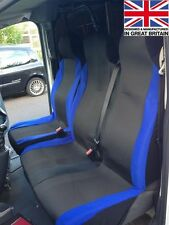 FORD TRANSIT CREW CAB CUSTOM 2013 DELUXE RACING BLUE VAN SEAT COVERS 2+1