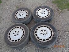 "1986-1995 Mercedes-Benz W124 300E 280E E300 E320 E420 400E 15"" wheels rims tires"