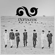 K-POP INFINITE 2nd Album Repackage [BE BACK] CD + PhotoBook Sealed Music CD