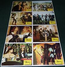 THE 5TH MUSKETEER 1979 ORIGINAL LOBBY CARD SET OF 8 SYLVIA KRISTEL
