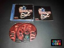 JUEGO DREAMCAST RESIDENT EVIL 2 (PAL ALEMAN!) GERMAN VERSION