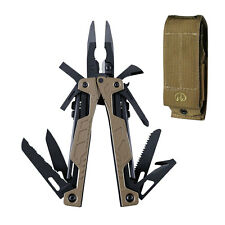 Leatherman 831626 OHT Coyote Tan Stainless Steel Multi-Tool Brown Molle Sheath
