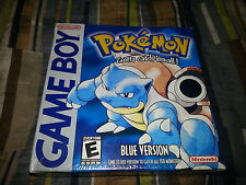 Pokemon Blue Version (Nintendo Game Boy Color, 1996) Brand New Factory Sealed