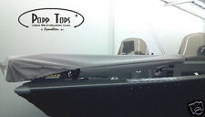 "Minn Kota Trolling Motor Cover  By PoppTops Fits Riptide ST  w/60"" Shaft.  GRAY"