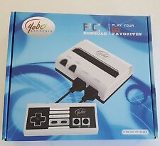NEW Black & White Yobo Fc Video Game System to play NES 8 Bit Nintendo Games