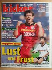 KICKER 94- 22.11 1999 Ulf Kirsten Rivaldo München-Freiburg 6:1 HSV-Bielefeld 5:0
