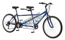 "new Pacific Dualie Tandem Bicycle with 26"" Wheels, Blue, 16""/One Size bike"