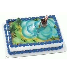 NEW, NEW, NEW, Fishing Cake Decorating Kit 4 Pieces, Same As Kroger / Wal-Mart