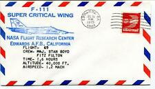 1975 F 111 Super Critical Wing Flight 69 Research Center Edwards Enevoldson NASA