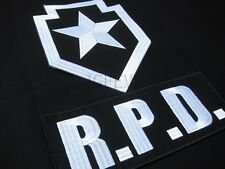 Resident Evil Umbrella  R.P.D. Star  Big Back Of The Body Patch One set