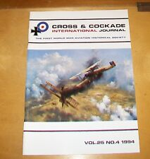 CROSS & COCKADE GREAT BRITAIN JOURNAL VOL 25 No 4 1994 35 SQN ORFORDNESS LORD