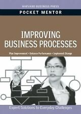 Improving Business Processes (Pocket Mentor), Harvard Business School Press, Acc