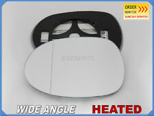Wing Mirror Glass HONDA CIVIC 2006-2011 Wide Angle HEATED Left Side #JH010