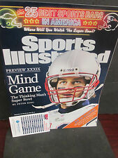 NEW ENGLAND PATRIOTS SPORTS ILLUSTRATED 2/7/2005-TOM BRADY S.B.XXXIX PREVIEW