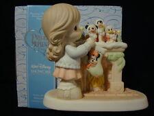 zn Precious Moments-Disney Showcase-Mickey-Minnie-Goofy-Donald-Chimney/Stockings