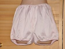 "NIX 1 - Lovely soft silky satin short bloomers / knickers, waist to 40"" BN"