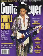 GUITAR PLAYER magazine, Jan. 2000 • PRINCE – Purple Reign • cover story! RARE!