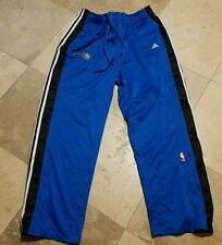 Adidas Orlando Magic Sweat Pants Adult 2XL Blue Black Snap Away Sides NBA Gym