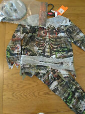 BNWT boy zomble skeleton halloween fancy dress up.Hologram. 7-8 yrs. Sainsbury