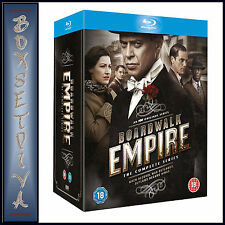 BOARDWALK EMPIRE - COMPLETE SEASONS 1 2 3 4 & 5 **BRAND NEW BLU-RAY REGION FREE*