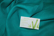 Linen 100% Woven Fabric From Europe light weight 7 oz L/YD Teal Turquoise