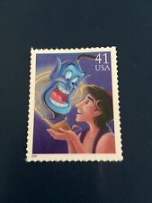 US Stamps Unused DIsney Aladdin & Genie Collect or Use as Postage