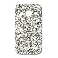 CUSTODIA COVER CASE PATTERN GATTI  CAT PER SAMSUNG GT-I9301 - Galaxy S3 Neo-