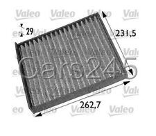 1998- OPEL VAUXHALL Astra G Zafira Activated Carbon Cabin air filter