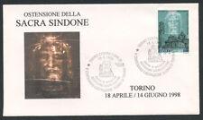 1998 - LOTTO/12508 - REPUBBLICA - OSTENSIONE SACRA SINDONE - FDC