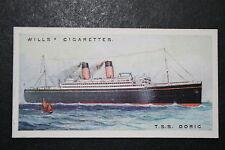 TSS Doric     Original 1920's Vintage Card  VGC