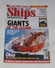 SHIPS MONTHLY APRIL 2004 - GIANTS OF THE OCEAN/OHIO/DATAFILE - NIMITZ CARRIERS