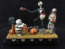 Hawthorne Village Nightmare Before Christmas Trick or Treat Flat Car Train