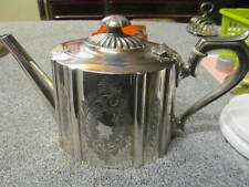 vintage Silver Plated Tea Pot - c1900 - Nice Shape
