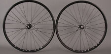 H Plus Son Archetype Black Rims Shimano 105 Road Bike Wheelset 8 9 10 11 Speed