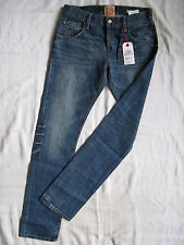 Replay Blue Jeans Denim W28/L32 slim fit light low waist tight legs button fly