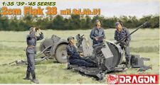 DRAGON 6288 - 2cm FLAK 38 mit Sd.aH.51 (FIGURES NOT INCLUDED) - 1/35 NUOVO