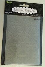 "DARICE EMBOSSING FOLDER - 4.25"" X 5.75"" - FLEUR DI LIS - 1215-63 CARD MAKING"