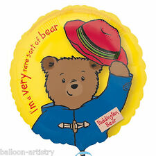 "18"" Paddington Bear The Movie Birthday Round Foil Party Balloon"