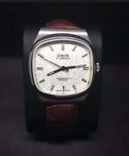 VINTAGE  ORIS  ANTIMAGNETIC MENS WATCH SERVICED(EXCELLENT CONDITION)
