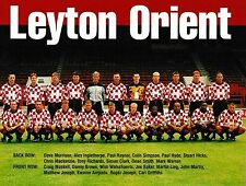 LEYTON ORIENT FOOTBALL TEAM PHOTO>1998-99 SEASON