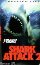 Shark attack 2 (1999)  VHS CVC Video -  David Worth  Thorsten Kaye, Nikita Ager