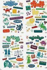 120 What's Your Sign Epoxy Stickers Zodiac Phrases Symbols Crafts Scrapbook