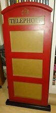 Telephone Box - Wooden - Multi photo frame - For 3 photos