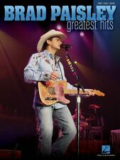 Brad Paisley Greatest Hits Sheet Music Piano Vocal Guitar Songbook NEW 000306758