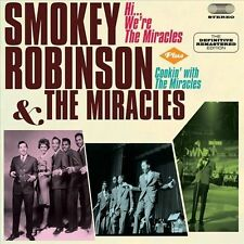 NEW Hi, We'Re The Miracles/cookin' With The Miracles by Smokey... CD (CD)